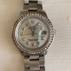 Rolex, 36mm datejust oyster perpetual